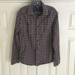 Kenneth Cole Reaction Button Down Men's Shirt